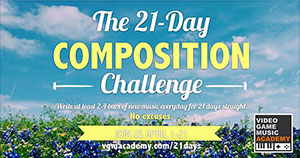 21-Day Composition Challenge Graphic