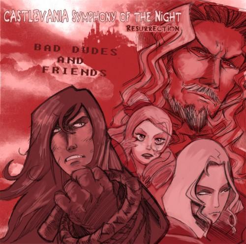 Castlevania SOTN: Resurrection Cover