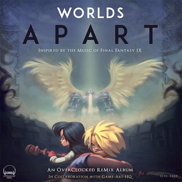 Final Fantasy IX: Worlds Apart Cover