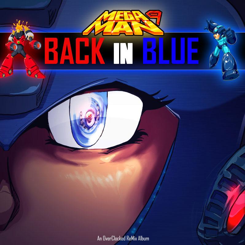 Mega Man 9: Back in Blue Cover