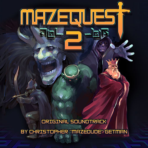 MazeQuest 2 Original Soundtrack Cover