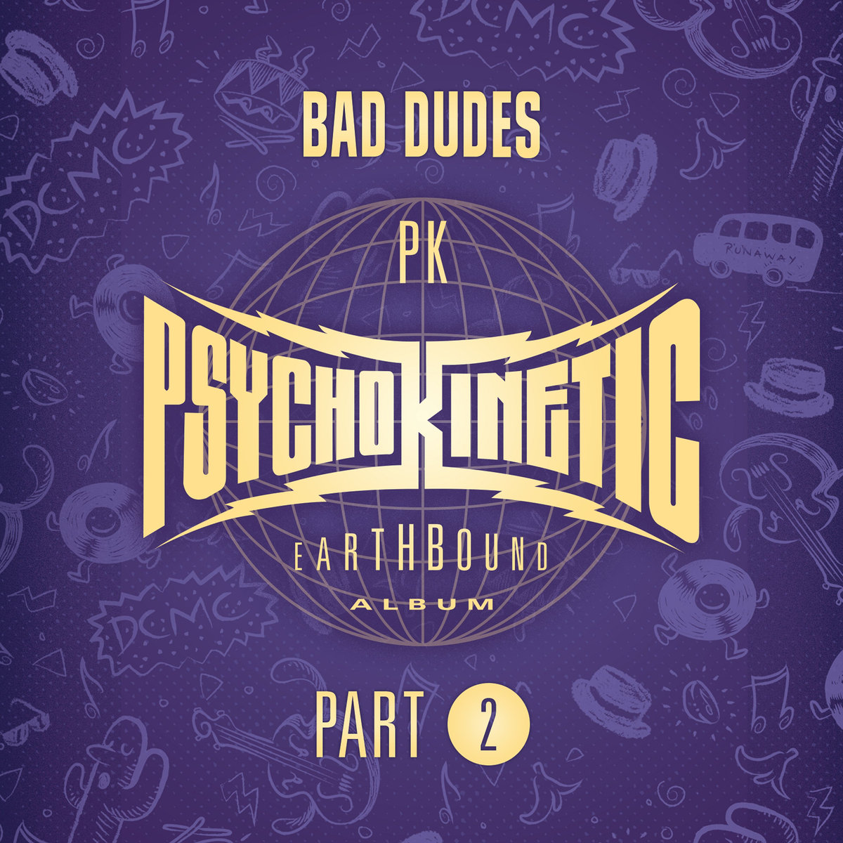 Psychokinetic Part II Cover
