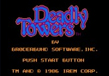 Deadly Towers (NES) Thumbnail
