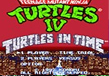 TMNT4: Turtles in Time (SNES) Thumbnail