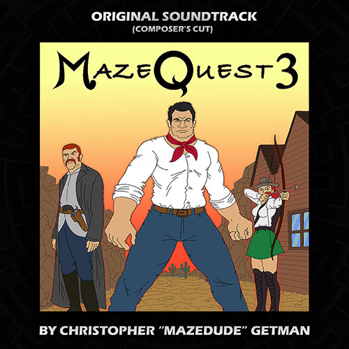 MazeQuest 3 game soundtrack by Mazedude